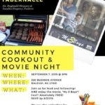 Community Cookout & Movie Night